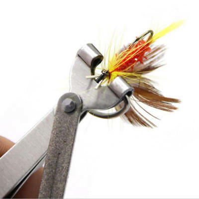 Quick Knot Tool 4 in 1 Fly Fishing Clippers Line Nipper Tying w Zinger Utensil