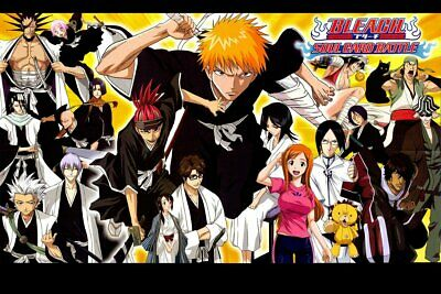 Poster Bleach Kurosaki ichigo Japan Anime Boy Room Wall Cloth Print 04