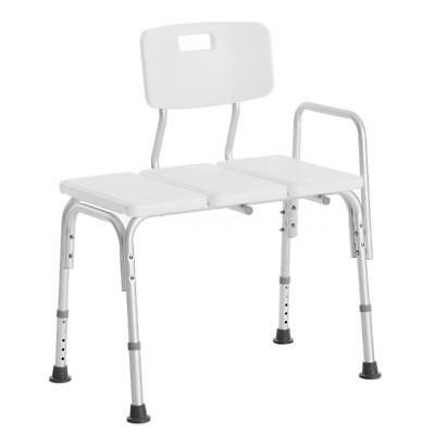 100% True Elderly Bath Shower Chair Aluminum Alloy Medical Transfer Bench Ergonomic Old People Bathroom Armchair Cst-3052 White Back To Search Resultsfurniture Us Stock