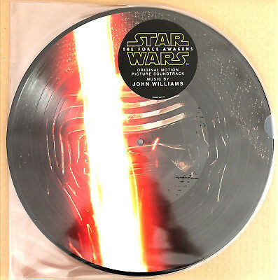 John Williams 2xLP Star Wars: The Force Awakens - Picture Disc - USA (M/M)