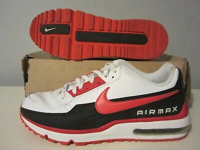 8947ad5d07417 (407979 169) NIKE Air Max LTD white/black/action red sz 13 Mens retro