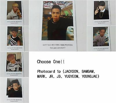 GOT7 K POP 1st Identify Selected official photocard 1p