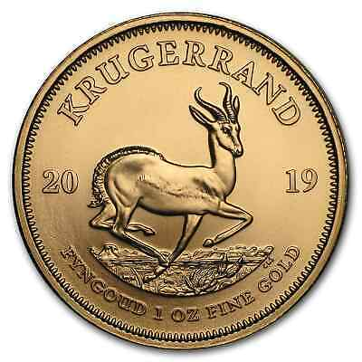 2019 South Africa 1 oz Gold Krugerrand BU - SKU#170434