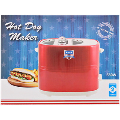 Machine Appareil A Hot Dog Hotdog Grill Pain Saucisse American Design 394
