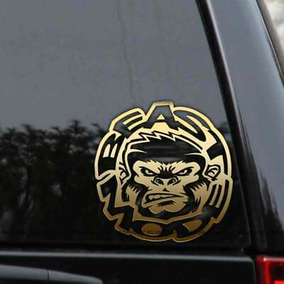 Beast Mode Decal Sticker Gorilla Ape Crossfit JDM Car Truck Laptop Window