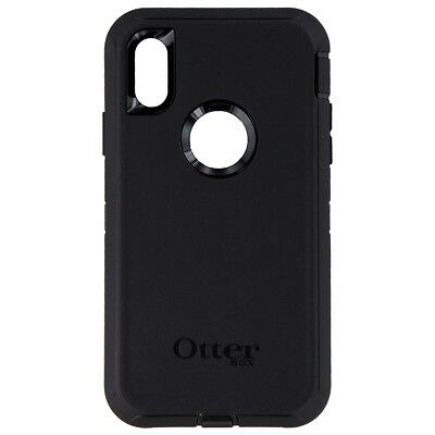 INCOMPLETE OtterBox Defender Series Case for Apple iPhone XR - Black