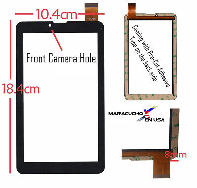 New KINGVINA-163FPC Touch Screen Digitizer Tablet Glass Replacement Panel Sensor