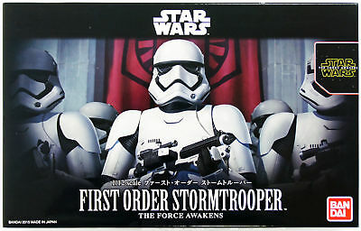 Bandai Star Wars First Order Stormtrooper 1/12 Scala Kit Giappone Ufficiale