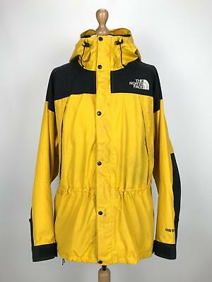 3db0ccfb19 ... official store vintage the north face mountain guide gore tex parka  jacket xxl 2xl yellow f9903