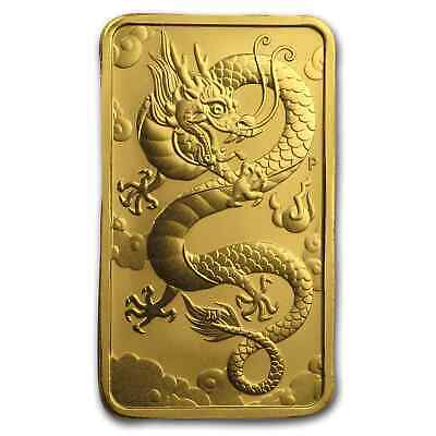 2019 Australia 1 oz Gold Dragon BU - SKU #186341