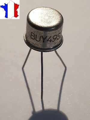 Transistor BUY49S NPN Silicon TO39 200V 3A