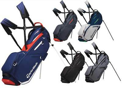 TaylorMade FlexTech Stand Bag Golf Carry Bag 2019 New - Choose Color!