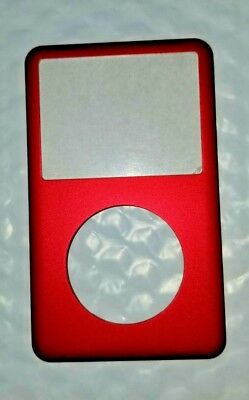 🔥Front Cover Faceplate for iPod Classic 6th 6.5 7th gen 80gb 120gb 160gb Red🔥