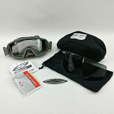 00a2ba21c1d Smith Optics Elite Outside the Wire Goggles Foliage Green Clear Gray Lenses