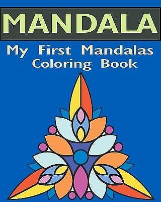 My First Mandalas Coloring Book: Stained Glass Coloring Book by Book, Gem