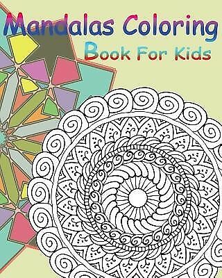 Mandalas Coloring Book for Kids: Happy Coloring Book: Stained Gla by Book, Gem