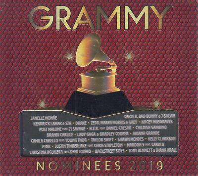 NEW - Grammy Nominees 2019 CD Various Artist 602577275555 FAST SHIPPING!