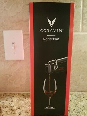 CORAVIN Model Two Wine System NEW in Box - BLACK