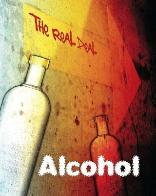 Alcohol (The Real Deal) by Lynette, Rachel Paperback Book The Cheap Fast Free