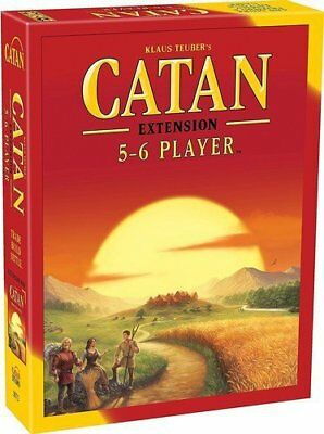 Settlers of Catan Board Game 5th Edition 5-6 Player EXTENSION EXPANSION Pack