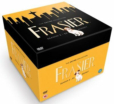 Frasier Complete Collection (Series 1-11) [DVD] - DVD  62VG The Cheap Fast Free