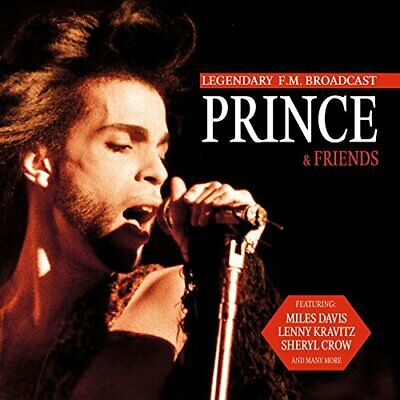 Prince - Prince & Friends Legendary FM Broadcast - Prince CD 9QVG The Cheap Fast