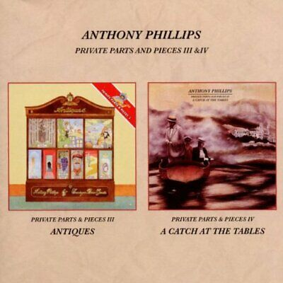 Phillips, Anthony - Private Parts & ..3&4 - Phillips, Anthony CD FSVG The Cheap