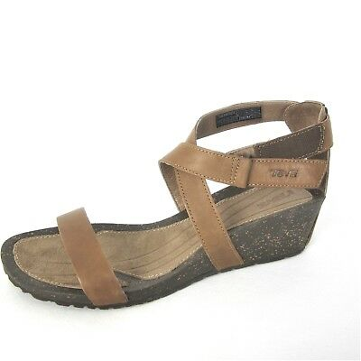 bcaadcf158ab NEW WOMEN`S TEVA Cabrillo Crossover Sandals Leather MSRP 80 -  39.99 ...