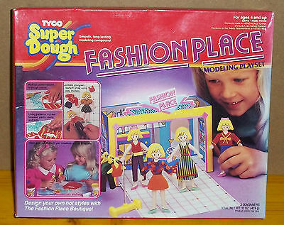 Pasta da modellare TYCO SUPER DOUGH FASHION PLACE modelling playset_simil pongo