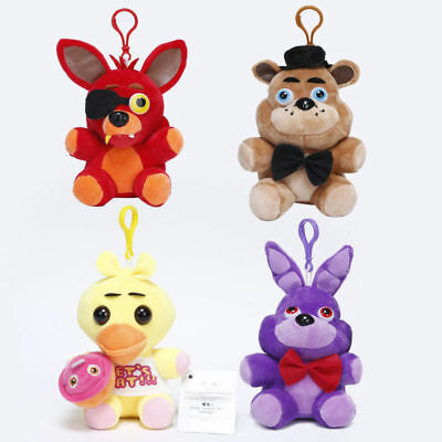 "4PCS 5"" Animal Plush Toy Flush Toy Stuffed Animal Toys Children Gift"