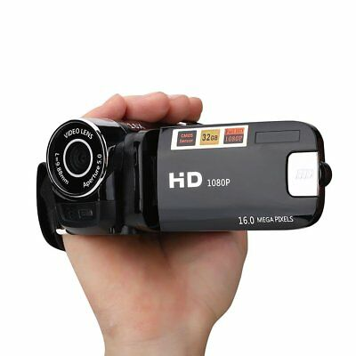 "Full HD 1080P 2.7"" LCD Digital Video Camera Camcorder DV 16X Zoom COMS Sensor"