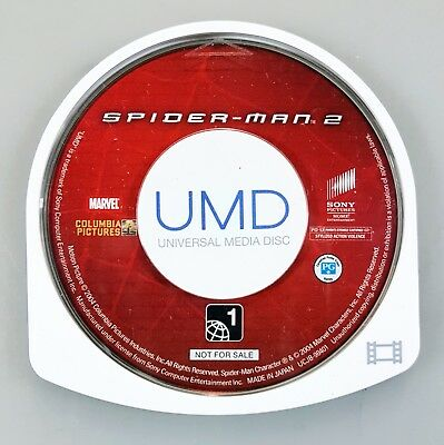 Sony PSP SPIDER-MAN 2 Full Length Promotion UMD us RC1