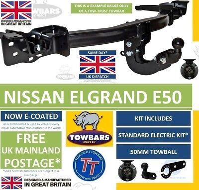 Flange Towbar for Renault Grand Modus 2008on Tow-Trust Tow Bar TR827