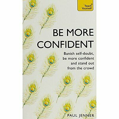 Paul Jenner Be More Confident Book The Cheap Fast Free Post