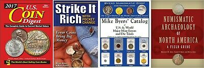 Krause Strike it rich COIN Digest Catalog Numismatic in P.DF -Price Is For all 4