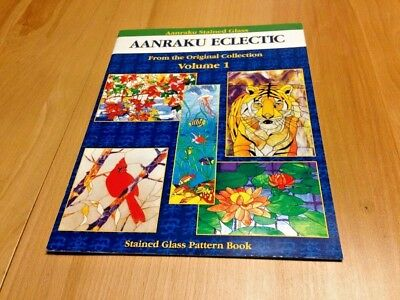 Stained Glass Pattern Book Aanraku Eclectic vol. 1 from original collection
