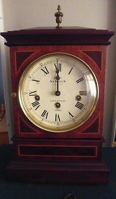 'Sewills of Liverpool' 8-Day Bracket Clock with Triple Chimes