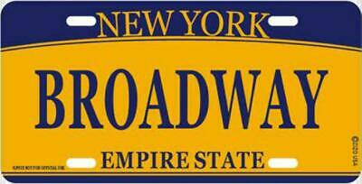 New York Broadway Metall Schild Plate Empire State 30 cm Souvenir