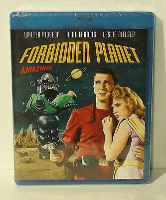 Forbidden Planet (Blu-ray Disc, 2010) NEW & FACTORY SEALED