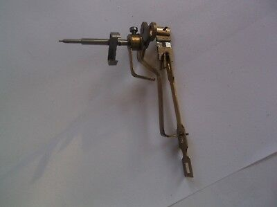 Escapement Leader Arm Etc  From An Old Enfield  Mantle Clock  Ref Vic 1