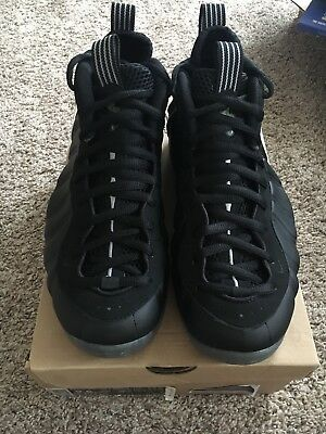 27498d7a324 Nike Air Foamposite One Stealth Black Size 9.5 Mens 2012 New In Box