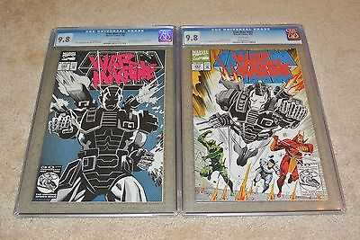Cgc 9.8 Iron Man #282 & #283 1St & 2Nd Full App. Of War Machine! **white Pages**