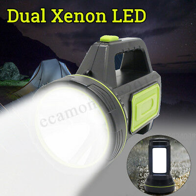 139000Lm Led Rechargeable Work Light Torch Camping Spotlight Lamp Eu/uk Model