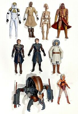 CHOOSE Hasbro 2008-2010 Star Wars Clone Wars Action Figures