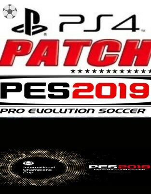 patch pes pro evolution soccer 2019 per ps4 juve real madrid logho aggiornamento