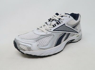 6bcbfd481b09 REEBOK MEN SHOES Pheehan Run White Silver Sneakers  2735 -  29.00 ...