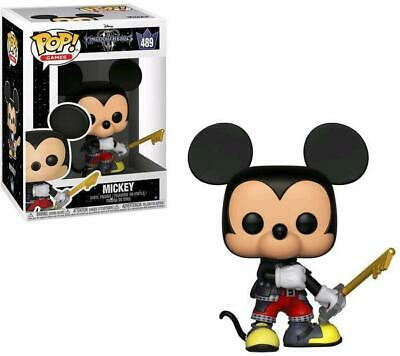 Funko Pop Kingdom Hearts 3 Mickey 489 9 Cm Figure Disney Videogame Iii Statua #1