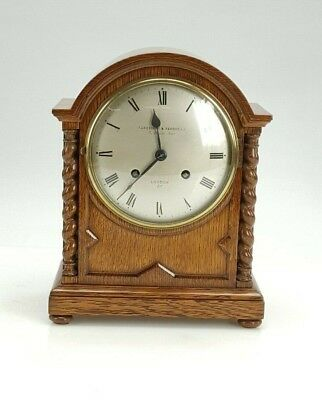 Fine Quality Parkinson & Frodsham London barley twist Bracket Clock