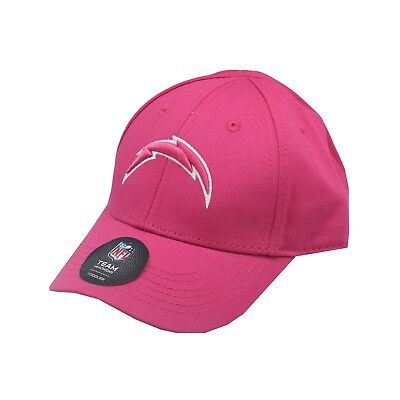 27644791a Los Angeles Chargers NFL Toddler   Kids Girls OSFM Adjustable Pink Hat Cap  New