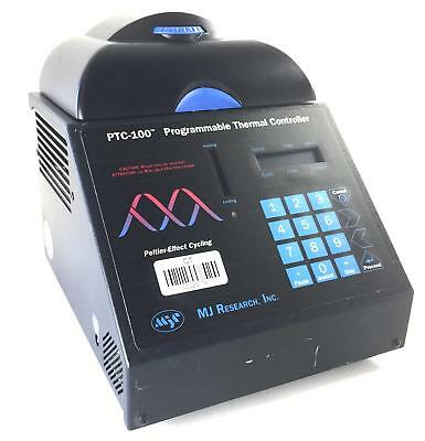 MJ Research PTC-100 Peltier Effect Cycling Programmable Thermal Cycler #23778